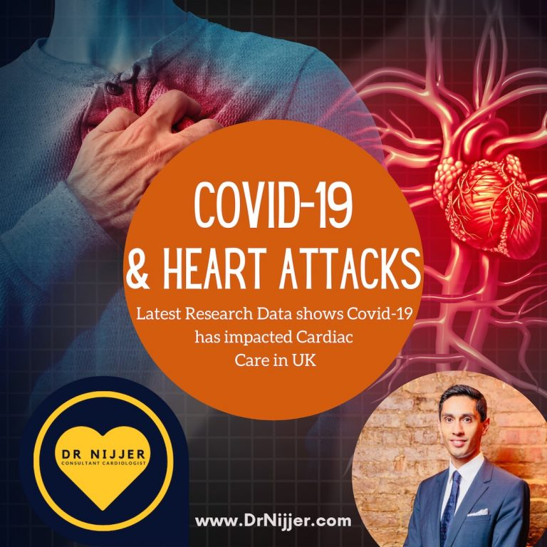 Dr Nijjer Consultant Cardiologist discusses Heart Attacks during the Covid-19 Pandemic