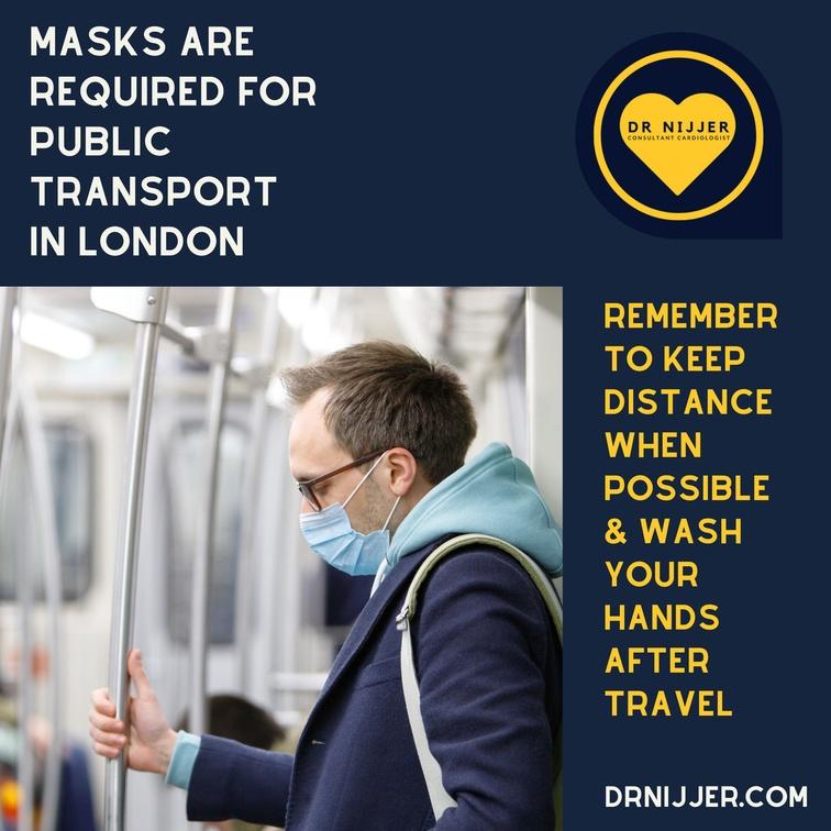 Covid-19 means we must wear Masks on Public Transport