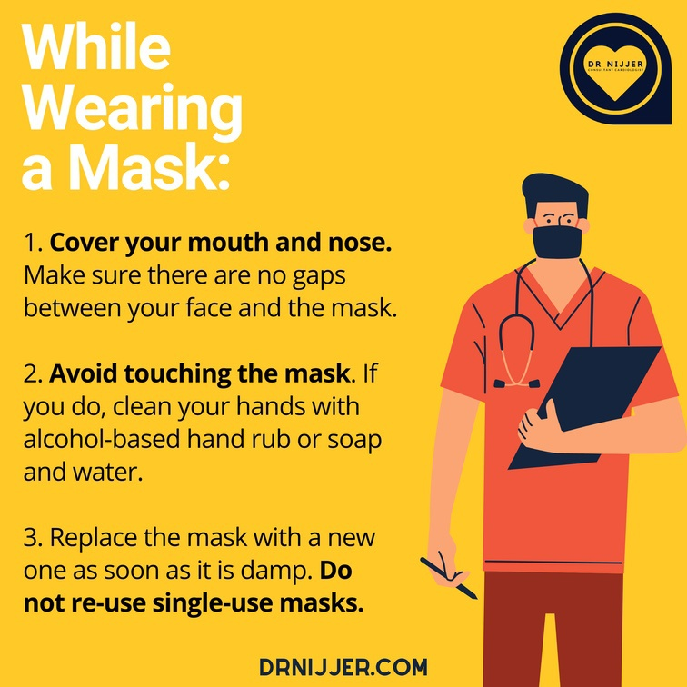 Important Tips on How to wear your face-mask to protect you from Covid-19