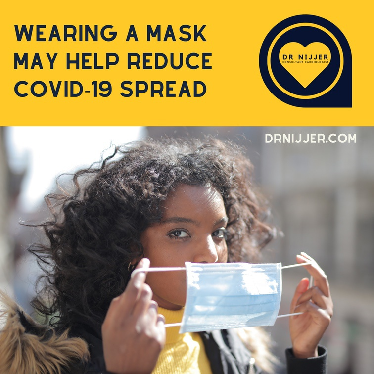 Wearing a Mask can reduce the spread of Covid-19: you can protect yourself and others