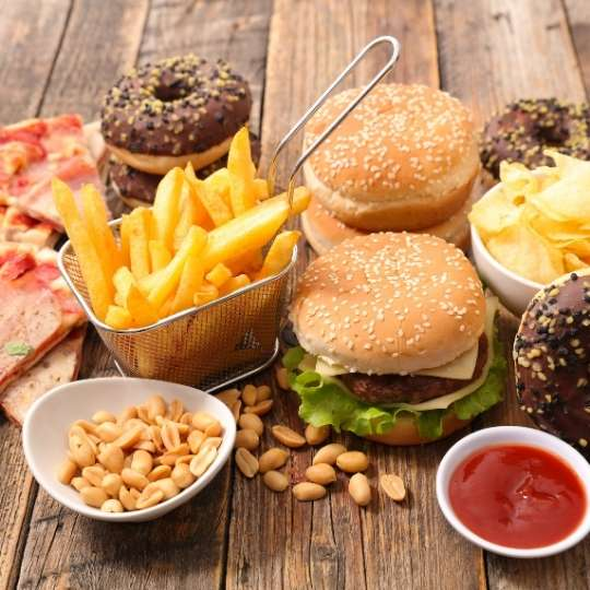 Poor diet with salt and saturated fats will increase coronary heart disease