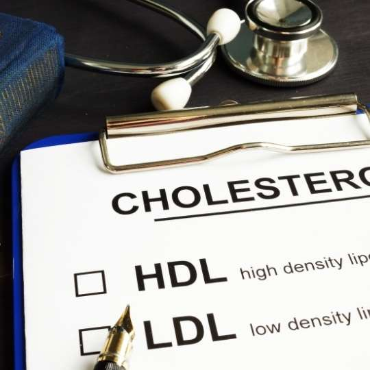 High cholesterol levels are a major cause of coronary heart disease