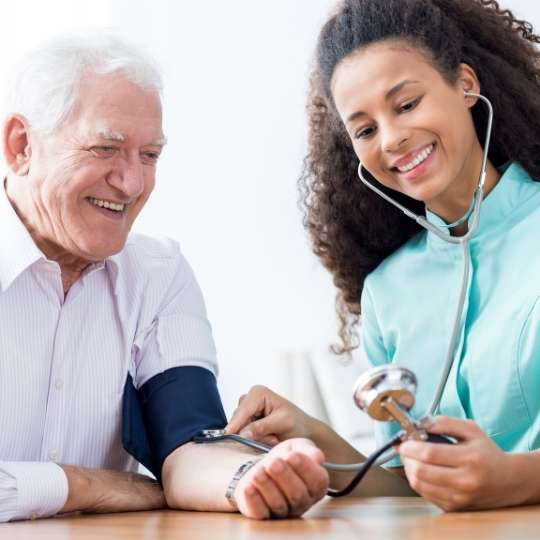 Your GP or Practice Nurse can monitor your blood pressure