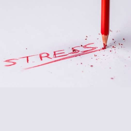 Stress is an important determinant in high blood pressure
