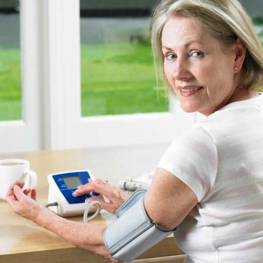 Home monitoring of blood pressure can help you meet your targets