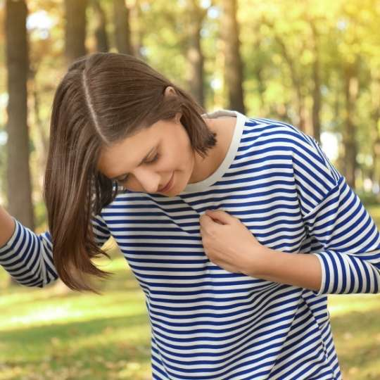 Palpitations can be caused by arrhythmia