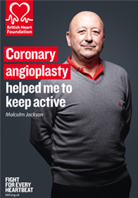 British Heart Foundation leaflet on Angioplasty